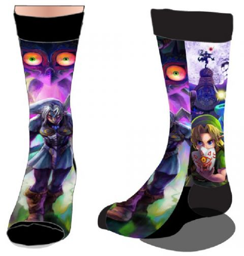 The Legend of Zelda Majora's Mask Key Art Socks